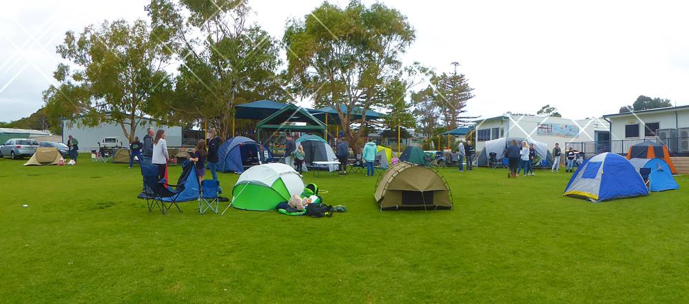 Team Ehlers Tent Night