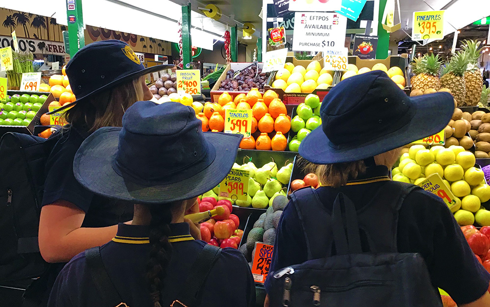 Class Excursion to Adelaide Central Markets